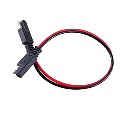 amazon com wadoy 2 pin quick disconnect wire harness sae connector Waterproof Quick Disconnect Wire Harness amazon com wadoy 2 pin quick disconnect wire harness sae connector 14 gauge heavy duty hight capacity battery cable 10\u0027\u0027 leads automotive
