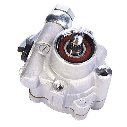 - ACUMSTE 49110-7Y000 Power Steering Pump Compatible with 02-08 Nissan Altima Maxima Quest 3.5L V6