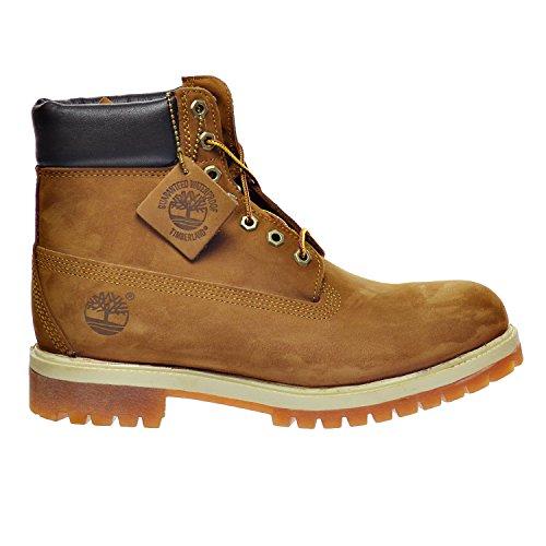 Timberland 6 Inch Premium Men's Boots Rust Nubuck tb072066 (10 D(M) - Premium Outlets Us