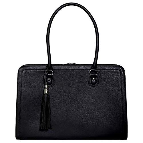 Luxury Leather Briefcase - 4