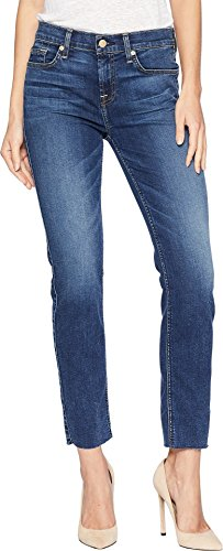 7 For All Mankind Women's B(Air) Roxanne Ankle w/Cut Off Hem in Echo Bair Echo 30 (7 For All Mankind Jeans Roxanne)