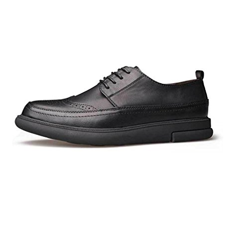 Casual Soft Scarpe zmlsc Uomo Autunno Punta Inverno Colore Business da Primavera Estate Black Sport Canvas A Ribbon Round dUX5qwqc