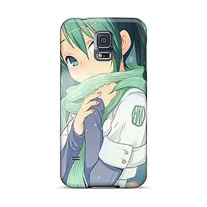Bumper Hard Cell-phone Case For Samsung Galaxy S5 With Custom Fashion Hatsune Miku Pattern TrevorBahri