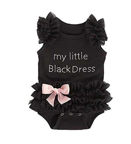 Catpapa Baby Girls' Lace Tutu Dress Romper Bodysuit,0-6 (Tutu Cute Onesie)