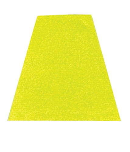 MSA SP20YP Scotchlite Tetrahedron for Cairns Fire and Rescue Helmets, Lime/Yellow (Pack of 20) by MSA