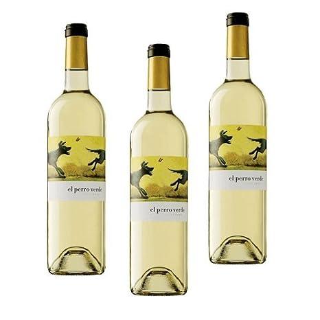 El Perro Verde - Vino Blanco - 3 Botellas: Amazon.es: Alimentación y bebidas