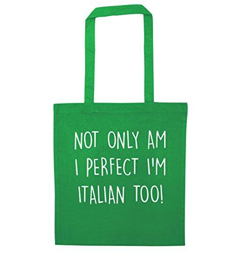 perfect only I tote Green too bag I'm Not italian am qftqp