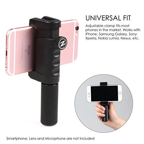 Journalist Kit: Smartphone Stabilizer Rig, Metal Hand Grip