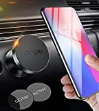 GETIHU Car Phone Holder, Universal Dashboard Magnetic Phone Mount for Car, 360° Rotatable Hands Free Cell Phone Car Holder for GPS, Compatible with iPhone 11 XS X 8 7 6 6s Plus Samsung Galaxy S10 Note 10 Huawei Oneplus Motorola etc.