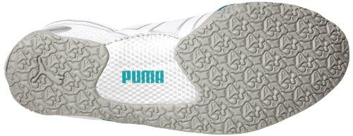 Zapatillas De Deporte Con Cordones Slip-on Metallic De Mujer Puma Anaida Lace White / Limestonegrey