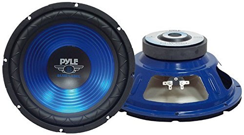 Pyle Blue Wave Series - PYLE PLW10BL 10-Inch 600 Watt Subwoofer