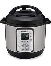 Instant Pot Duo Plus 80 Elektrische snelkookpan, slowcooker, rijstkoker, stoomboot, saute, yoghurtmaker en warmer, 8L, 220V 15 ééntoetsprogramma's