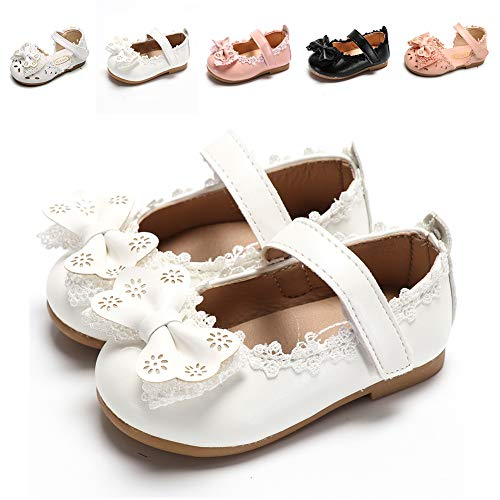 Sawimlgy US Toddler Baby Girls Slip On Mary Jane Flats Princess Dress Shoes Summer Sandals Ballerina Wedding Party Outdoor Shoes (Toddler/Little Kid)