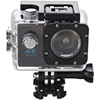Rambly Waterproof 4K Wifi HD 1080P Ultra Sports Action Camera DVR Cam Camcorder (Black)