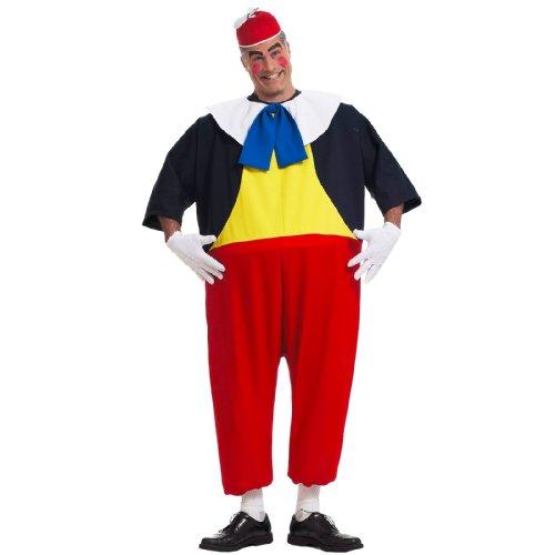 Tweedle Dee Costume - Standard - Chest Size up to (Dea Costume Men)