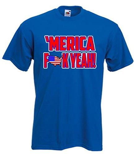 Merica F**K Yeah! T-Shirt ADULT 4XL -