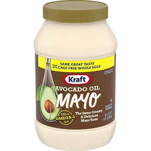 (Kraft Avocado Oil Reduced fat Mayonnaise, 30 fl oz Jar )