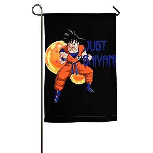 LMHB Dragonball Z Super Saiyan Goku Just Saiyan Home Flag Garden Flag Demonstrations Flag Family Party Flag Match Flag]()