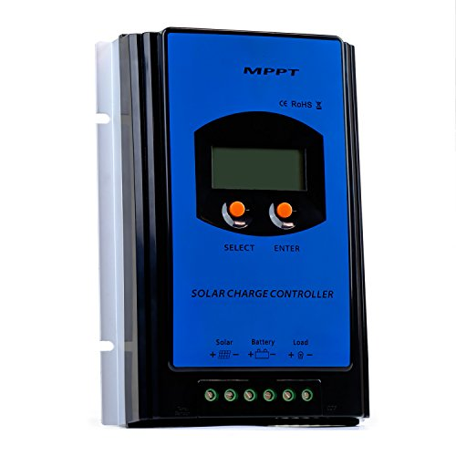 ExpertPower MPPT 40 Amp 12/24VDC Solar Charge Controller with LCD Display by ExpertPower