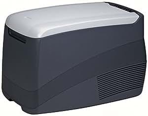 EZetil EZC35 Nevera portátil de compresor 12/24/100-240V, color gris oscuro/gris