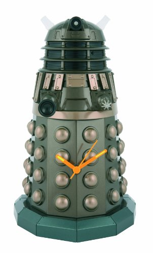 [Underground Toys Doctor Who Dalek Sculpted Wall Clock] (David Tennant Who Costume)