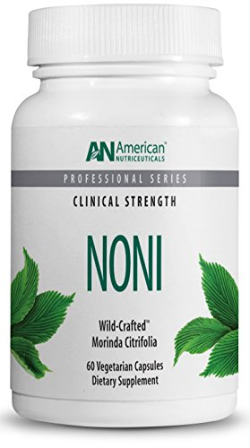 American Nutriceuticals - Noni - 60 Capsules | Powerful Adaptogen for Balanced Energy | 100% Freeze-Dried Whole Fruit - Dried Freeze Noni Fruit