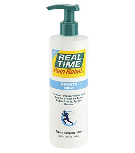 (Real Time Pain Relief Sports Cream, 12 Ounce Pump)