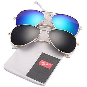 Pro Acme Classic Polarized Aviator Sunglasses for Men and Women UV400 Protection