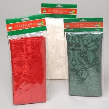 DDI 419076 Christmas Cloth Napkins - Case of 144 by DDI