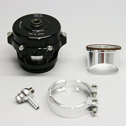 TiAL Q Blow Off Valve - 10 psi (un-painted) spring, Black Body, Aluminum Flange ()