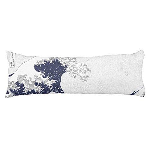 The Great Wave off Kanagawa by Katsushika Hokusai Body Pillowcase