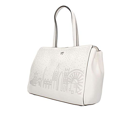 Ynot Shopping Skyline S003 Mujer Blanco Bag rvvZxR