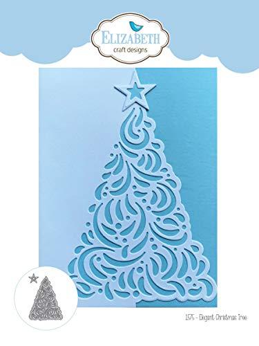 Elizabeth Craft Metal Die-Elegant Christmas Tree
