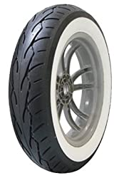 vee rubber vrm302 twin rear white wall motorcycle tire