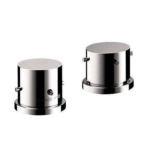 (Axor 10480001 Starck Thermostatic Tub Filler Trim in Chrome)