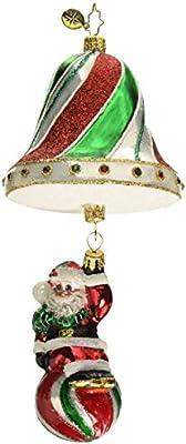 Multicolor Christopher Radko Swinging into The Holidays Christmas Ornament