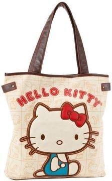 Hello Kitty Vintage Apples Handbag Tote Bag Shoulder Loungefly Sanrio SANTB0721 ()