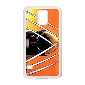 Samsung Galaxy S5 Cell Phone Case White Wolverine qyoi