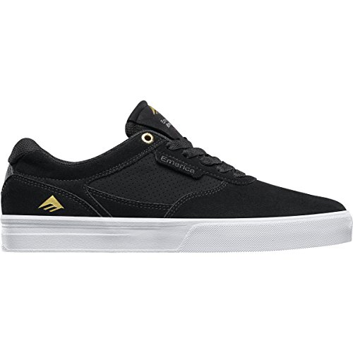 Emerica Men's Empire G6 Skate Shoe, Black/White, 9 Medium US