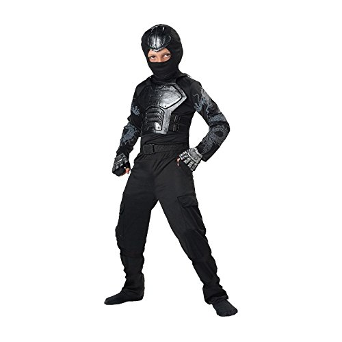 [Totally Ghoul Iron Fist Ninja Costume, Size Small, Ages 3+] (Iron Fist Costumes For Kids)