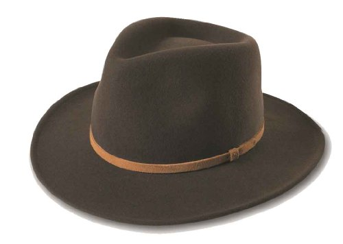 - Broner Lite Felt Autumn Outback Hat, Brown, Medium