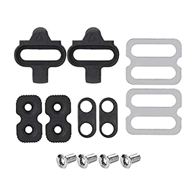 T-best Bicycle Pedals Cleat Set, Mountain Bike Accessories Cleats Set SPD Pedals PD-M520 M540 M324 M545 M424 M647 M959