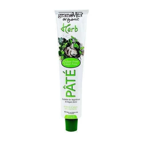 GranoVita Organic Herb Pate 200g (Pack of 6)