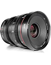 Meike 25mm T2.2 Handmatige Focus Prime Mini Cinema Lens voor Micro Vier Derden MFT M43 Mount Camera's