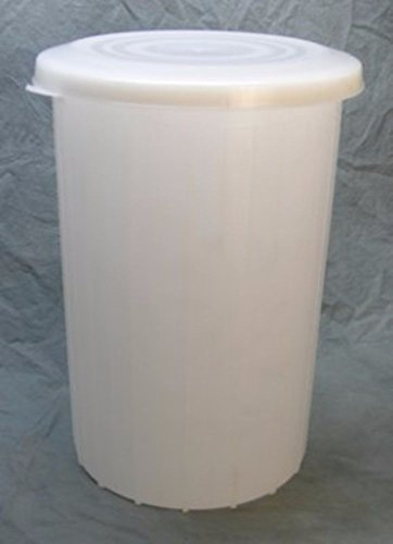 Midwest Homebrewing and Winemaking Supplies 10 gal Plastic Fermentor with Solid Lid by Midwest Homebrewing and Winemaking Supplies (Image #1)