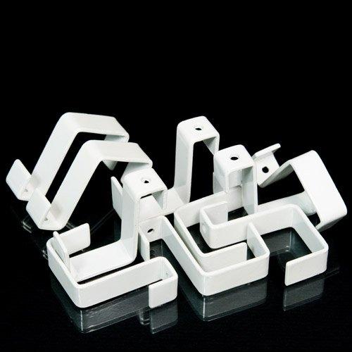 Aufh/änger f/ür Stellw/ände 1 St/ück Stellwandhaken Trennwandhaken 18mm mit Lochbohrung Bilderhaken