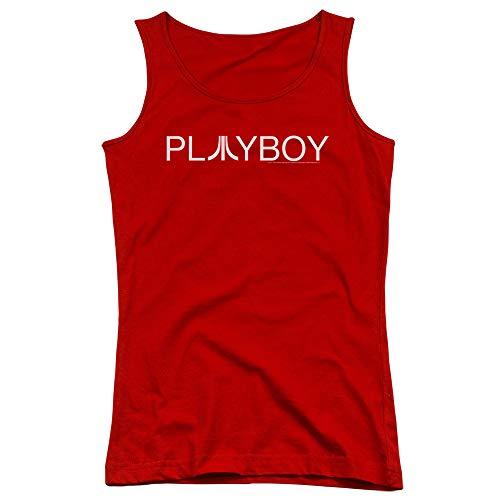 Atari - Juniors Playboy Tank Top, Size: Medium, Color: Red
