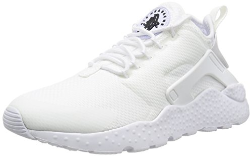 Nike W Air Huarache Run Ultra, Zapatillas de Running para Mujer Blanco (Blanco (white/white-black))