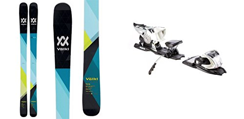Volkl Kenja 163cm Skis 2018 & Marker M 11.0 TC EPS 90mm Brake White Bindings by Volkl Skis, Marker Bindigns
