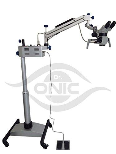 Neurosurgery Operating Microscope 3 Step, 45° Binoculars,Floor Type with LED Illumination -